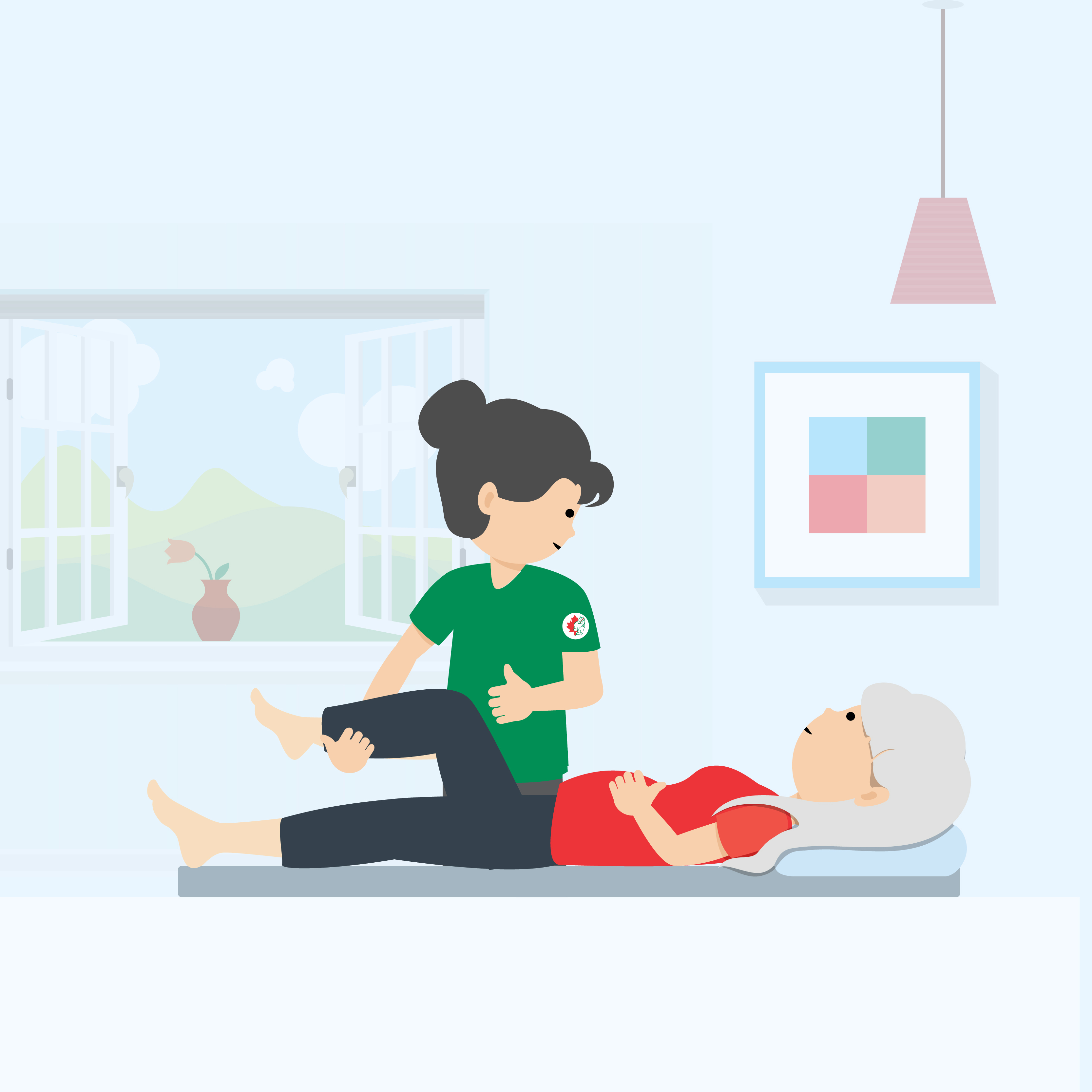 Physiotherapy for Elderly Care,  Geriatric Physical Therapy at Home